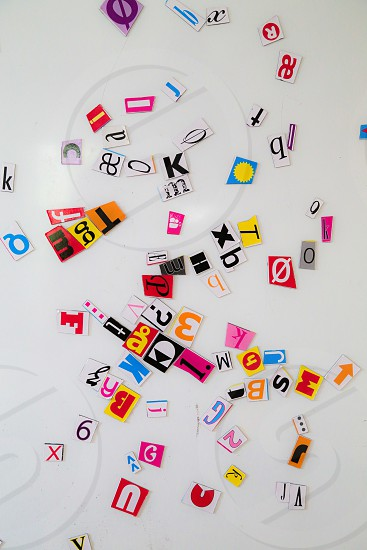 I collect letters photo