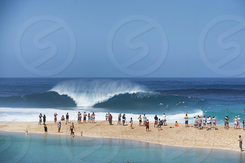 Pipeline Surfing North Shore of Oahu Hawaii pipe masters photo