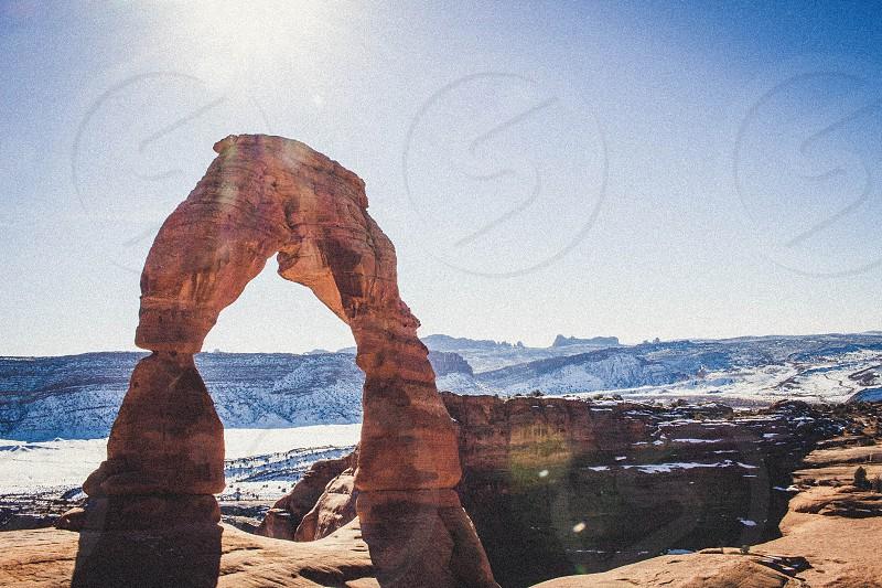 Delicate Arch Utah photo