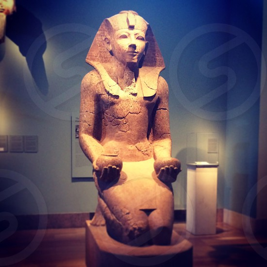 Egypt MET statue art museum archeology  photo