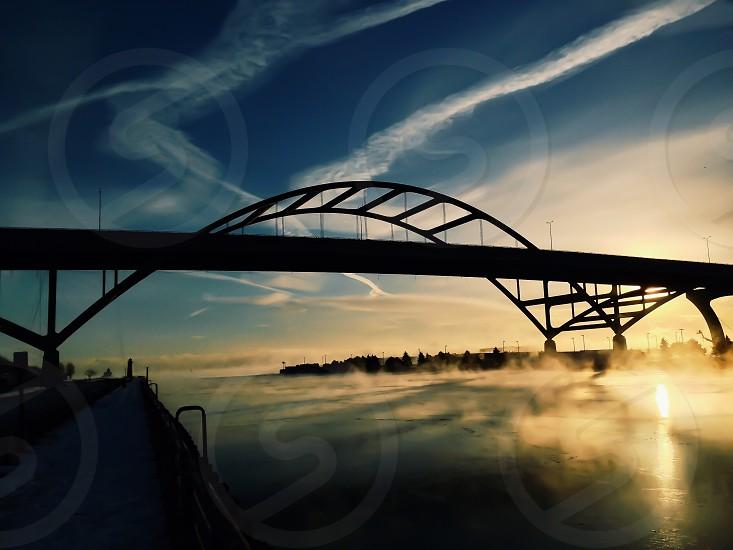 The Hoan Bridge in Milwaukee WI photo