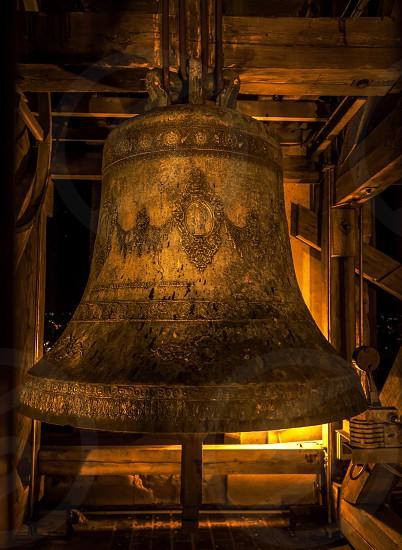 brass big bell macro photography photo