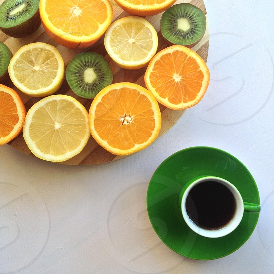 citrus slices photo