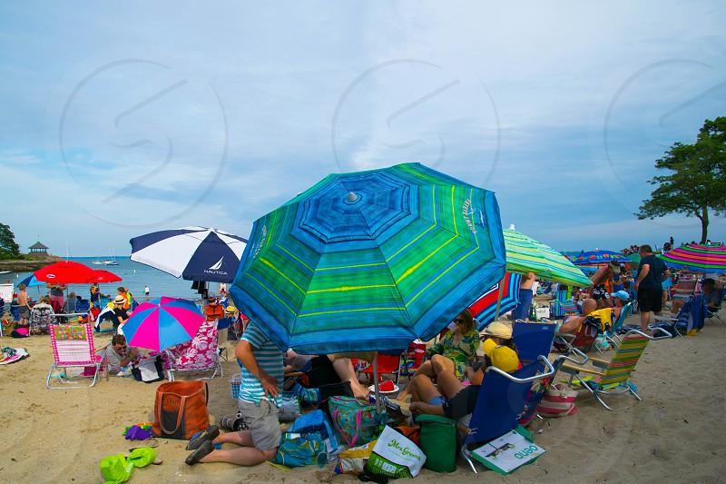 Under the umbrella photo