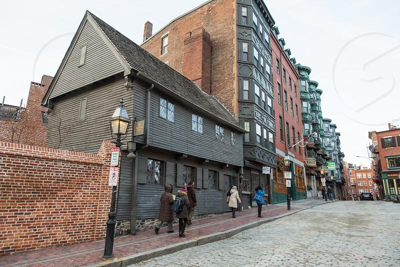 Paul Revere House in Boston Mass. photo