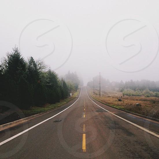 endless road.  photo