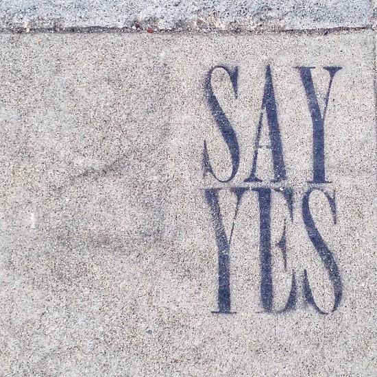 Say Yes! Street Art in Downtown Los Angeles photo