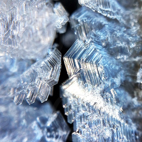 ice formations photo