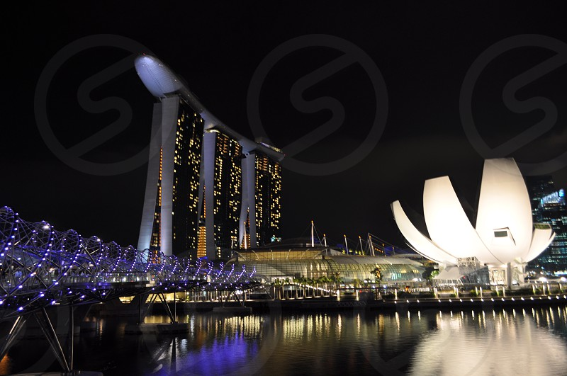 Marina bay sands Singapore photo