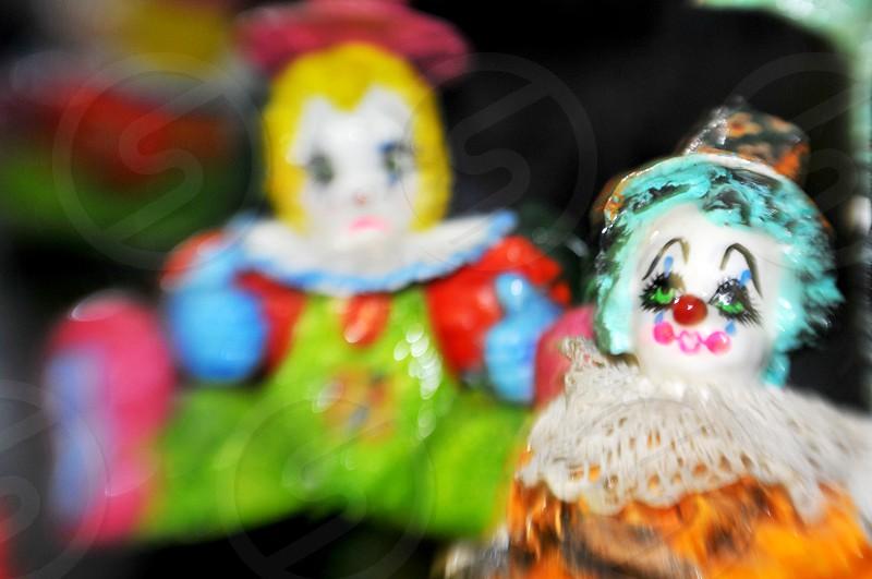 Clown doll figurines photo