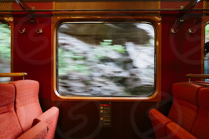 red running train photo