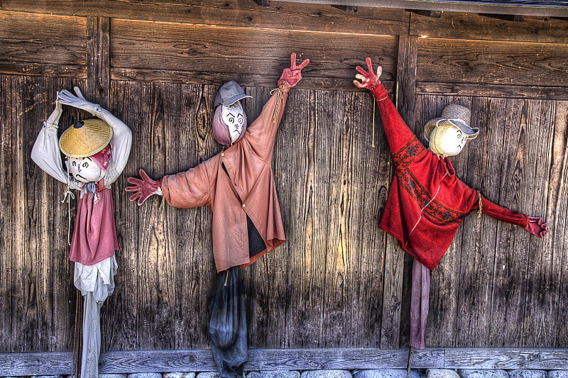 Dancing puppets photo