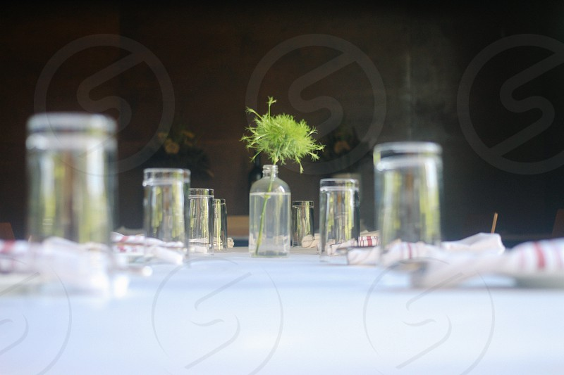 Table setting restaurant fine dining chef cooking dinner dine photo