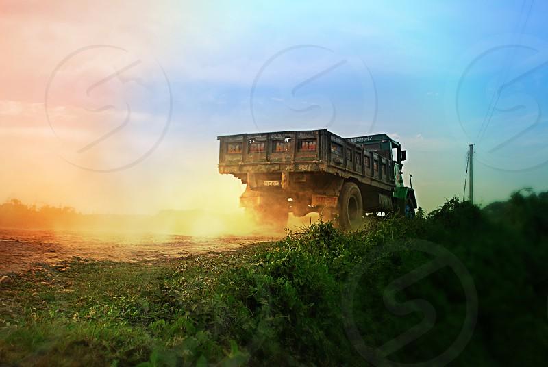 freight truck photo