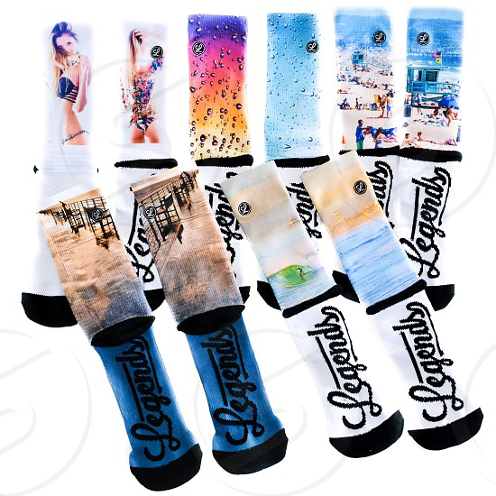legends tube socks photo