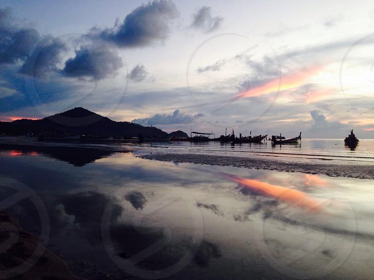 Ko Tao - A beautiful reflection  photo