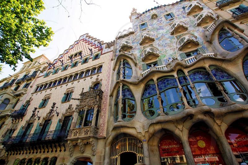 Passeig De Gracia Barcelona Cataluña España photo