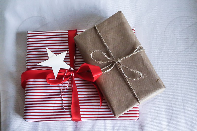 Presents packages paper present photo