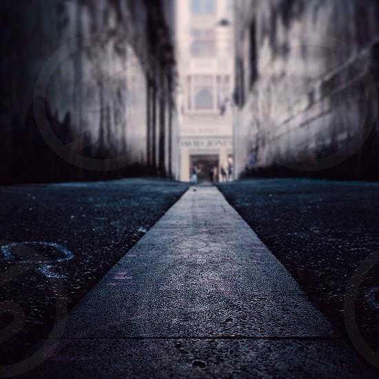 Down low perspective. Union Lane / Melbourne Australia. photo