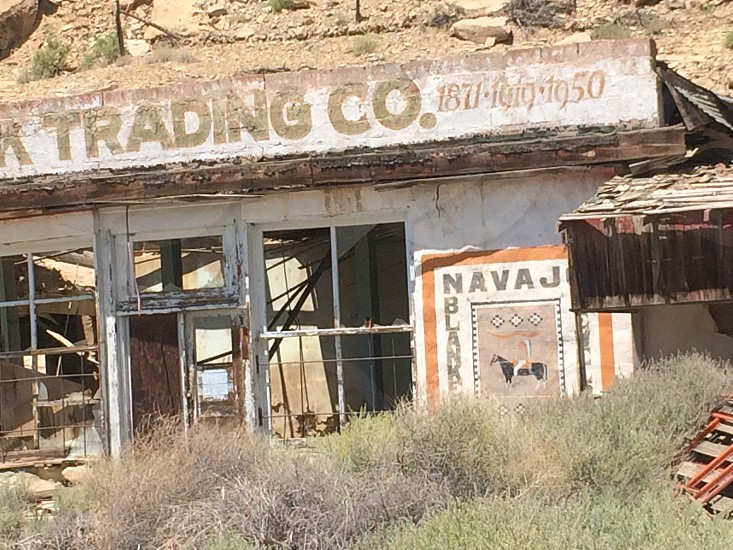 Old trading post photo