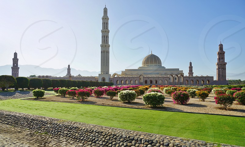 Sultan Qaboos Grand Mosque - Muscat Oman photo