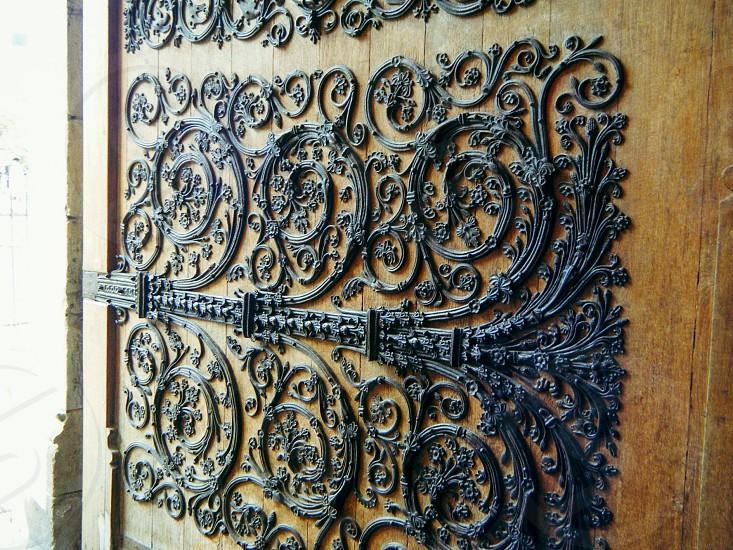 Door of Notre Dame de Paris photo