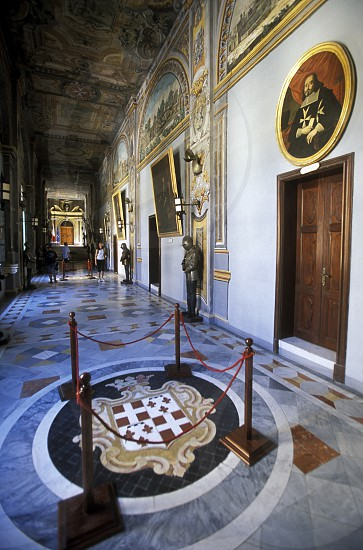 The Grand Masters Palace in the old City of Valletta on Malta in Europe photo