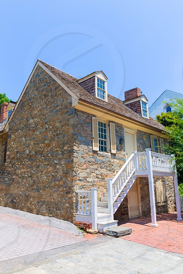 Georgetown Old Stone House in Washington DC USA photo