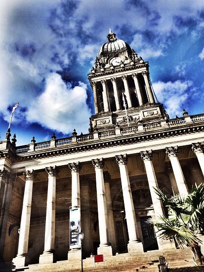 Leeds town hall photo