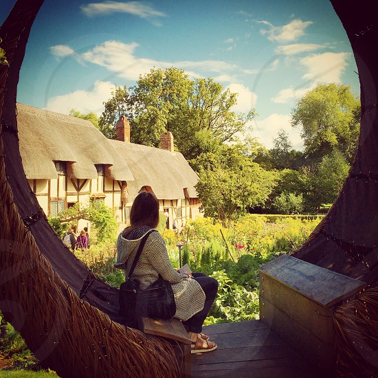 Anne Hathaway's Cottage Warwickshire England  photo