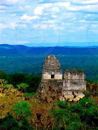 Tikal Ruins Guatemala photo