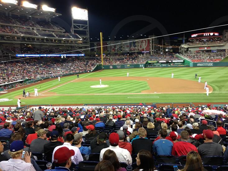 Washington Nationals Baseball Team photo