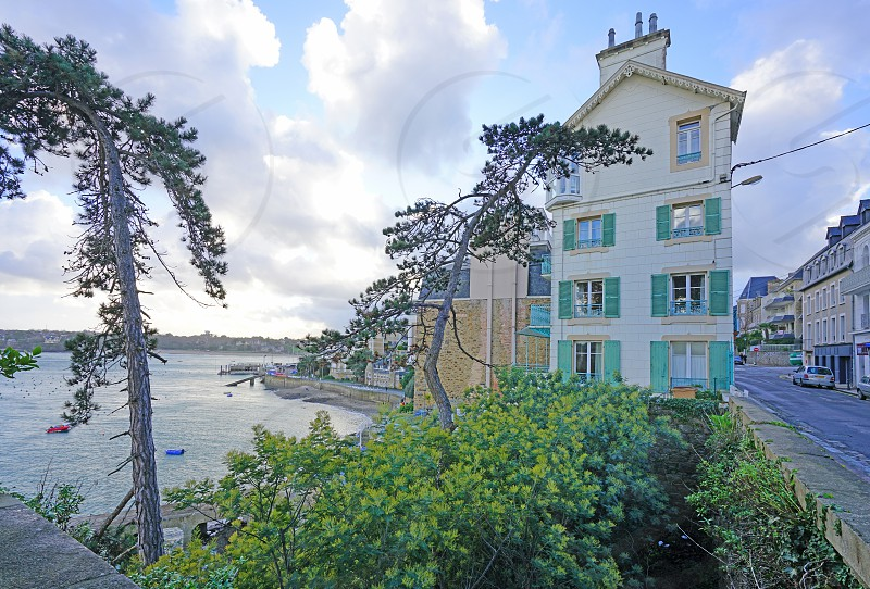 Dinard in Ille-et-Villaine Brittany France photo