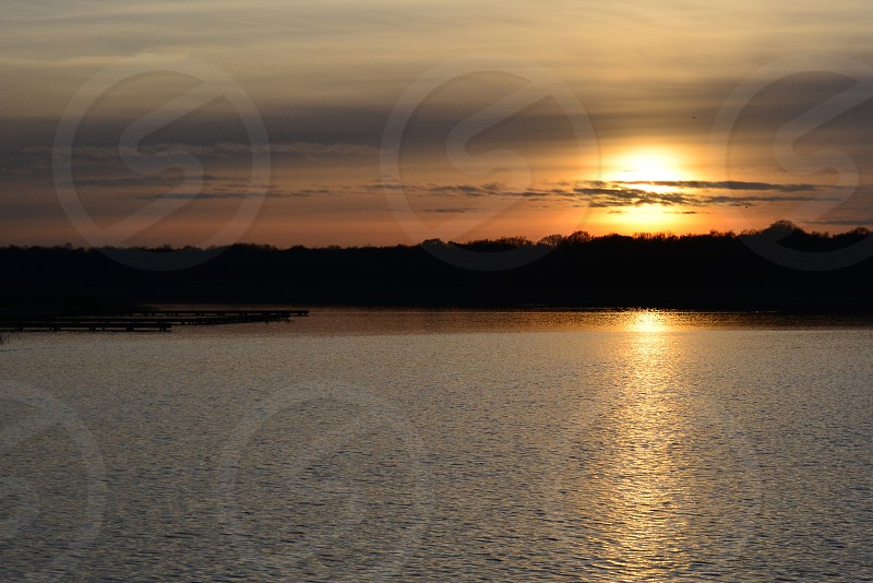 Sun set Norfolk Broads Inspiring Reflective Meditative UK photo