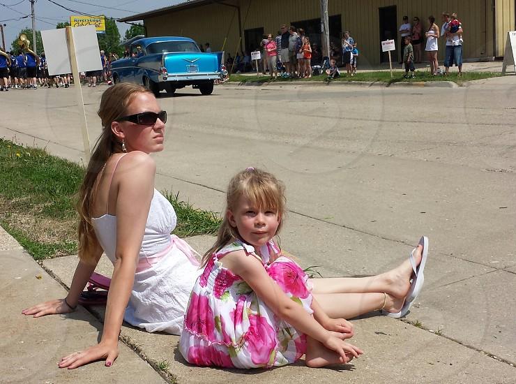 Summer. Parade. Vintage. photo