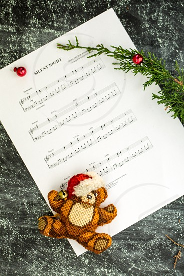 Christmas carols decor music photo