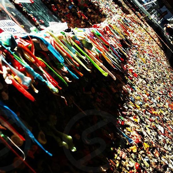 gum wall photo