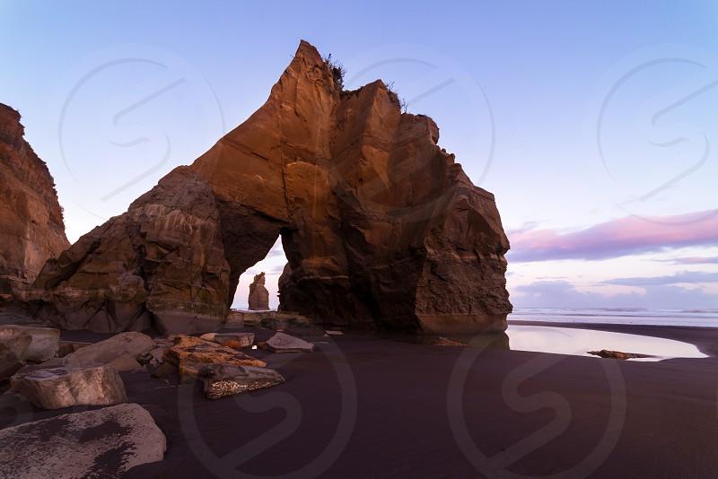 Elephant Rock at the Three Sisters Beach photo