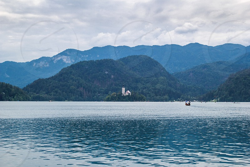 Lake Bled in Slovenia photo