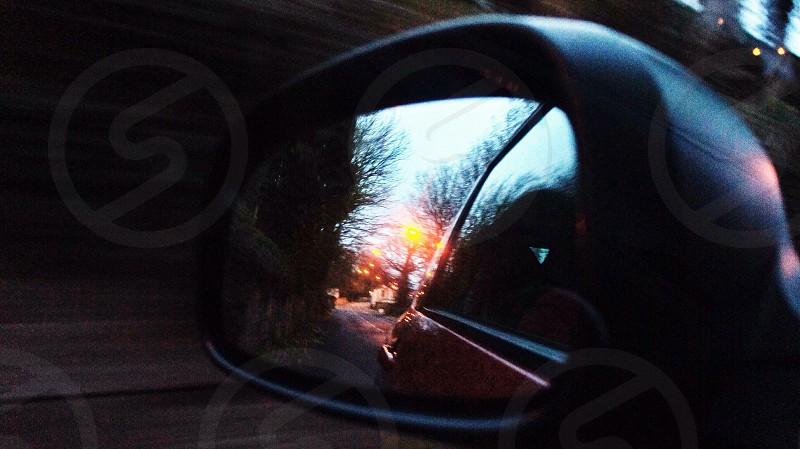 car side mirror photo