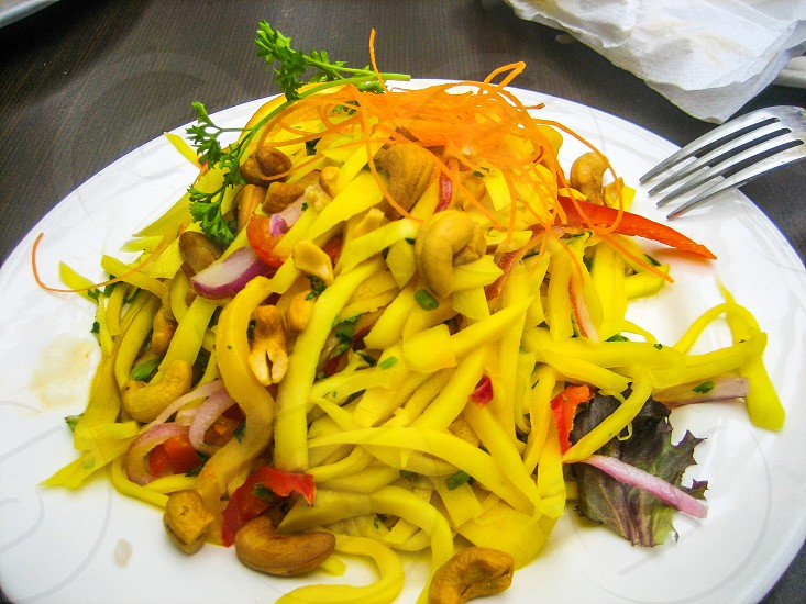 Mango salad photo