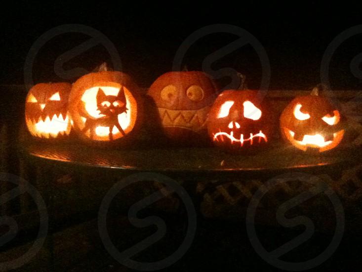 jack-o-lanterns photo