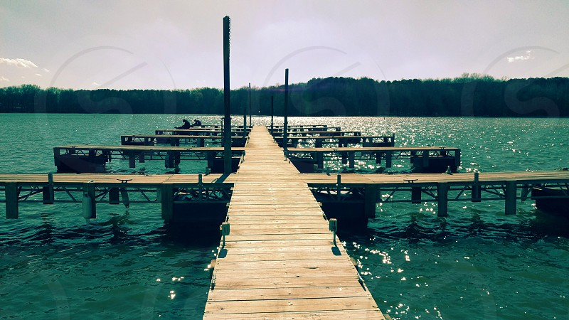 dock at the lake photo