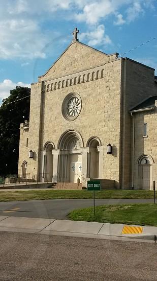 Church angle 2 photo