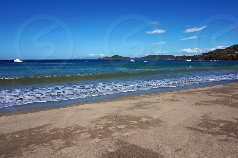 Playa Hermosa beach in Guanacaste Province Costa Rica photo
