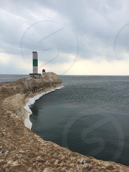 Lake Michigan at Holland State Park photo