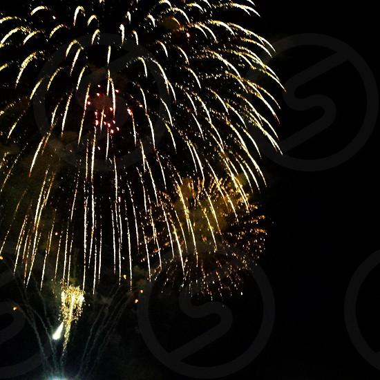 fireworks 4th of july celebration sparkle firework night sky photo