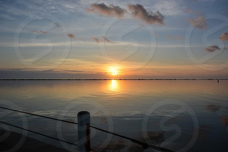 Sunrise Corpus Christi Bay photo