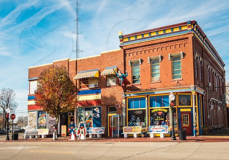 Super Museum and Gift Shop in downtown Metropolis IL USA photo