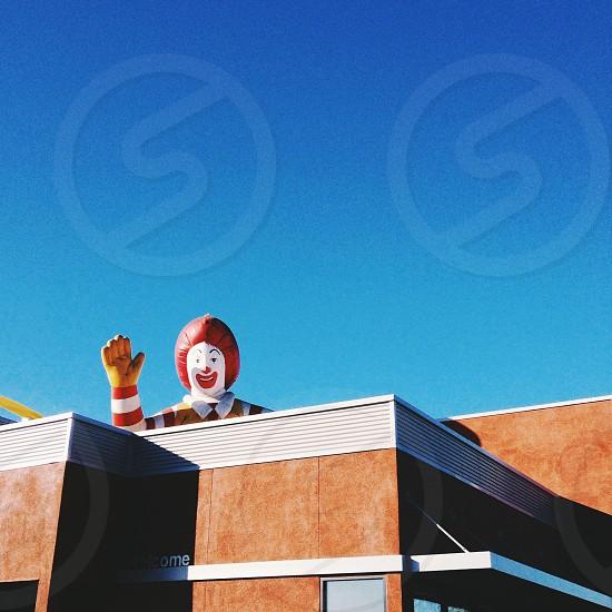 Ronald McDonald cometh photo